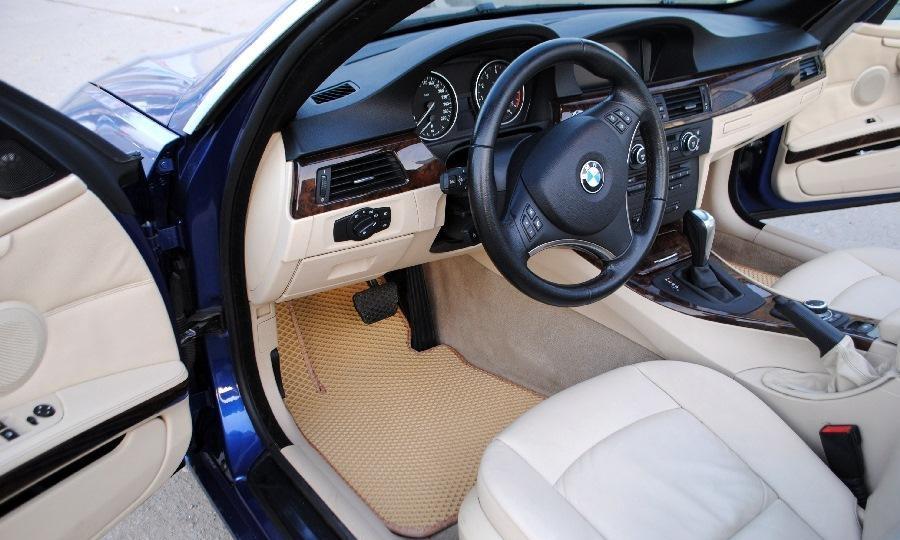 Автоковрики для BMW E 93 (2005-2008) кабриолет eva коврики от ТМ EvaKovrik