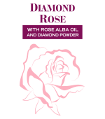 Daimond Rose с маслом розы Альба и бриллиантовой пудрой, БиоФреш