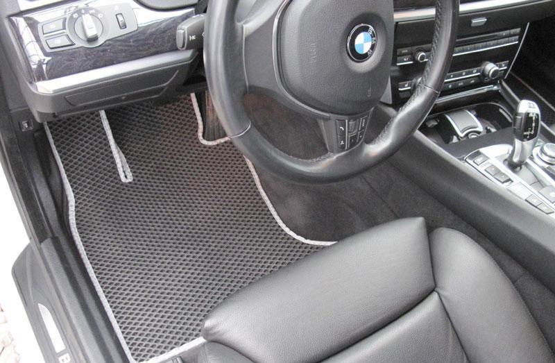 Автоковрики для BMW 5 GT F07 (2009-2017) Х/Б eva коврики от ТМ EvaKovrik