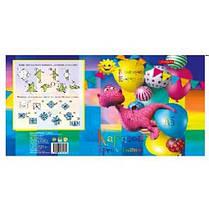 Картон цветной Тетрада А5 16л мелованная Family Line (1/50)