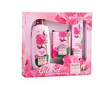 Комплект подарочный Biofresh Rose of Bulgaria  (Гель для душа 330 мл, мыло 100 гр, крем для рук 75 мл)