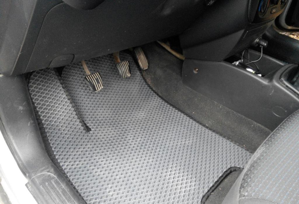 """Автоковрики ЭВА от ТМ """"EvaKovrik"""" для Chevrolet Aveo T-200 (2002-2008) I поколение"""