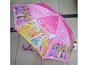 Зонт детский трость герои WX-2
