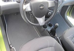 Автоковрики для Chevrolet Spark III (2009->) eva коврики от ТМ EvaKovrik
