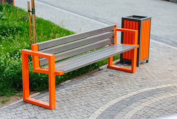 Лавки и скамейки парковые