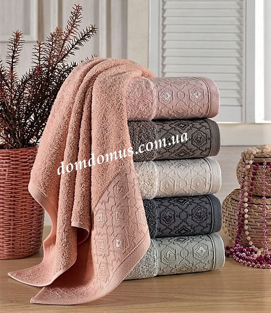"Махровое полотенце ""Monifa"" 70*140 см, Philippus 6 шт./уп, Турция"
