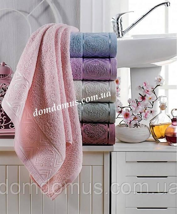 "Махровое полотенце ""Sidera"" 50*90 см, Philippus 6 шт./уп, Турция"