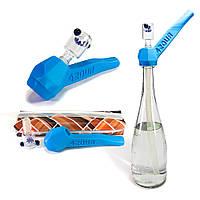 Трубка баблер 2 в 1 Easy Stoner 420UA Синяя, фото 1