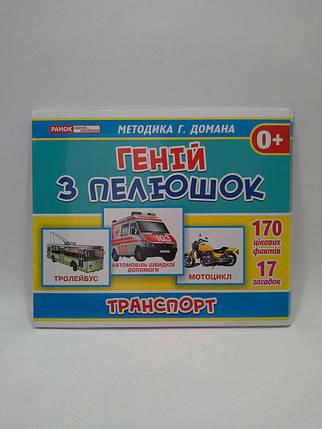 Світогляд Геній з пелюшок Транспорт Методика Домана 13107045У 1027-2, фото 2