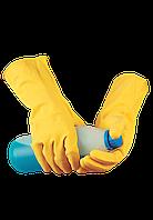 Рабочие перчатки химстойкие латексные «Барьер Стандарт»