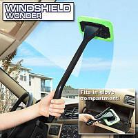 Швабра из микрофибры Windshield Wonder (Виндшил вандер) для лобового стекла авто, фото 1