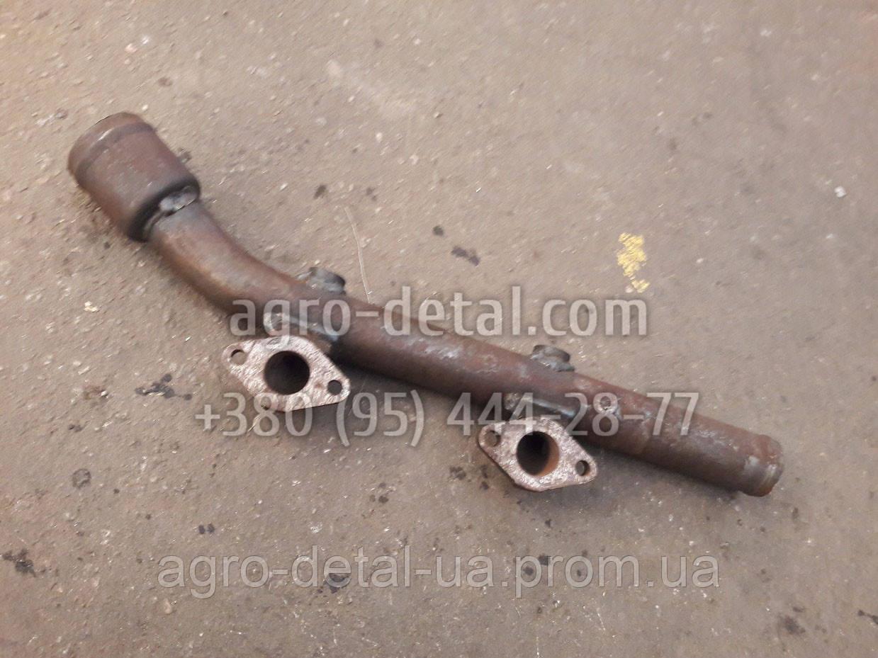 Труба 01-0682-1Б водяная передняя дизельного двигателя А 01,А 01М производства завода АМЗ