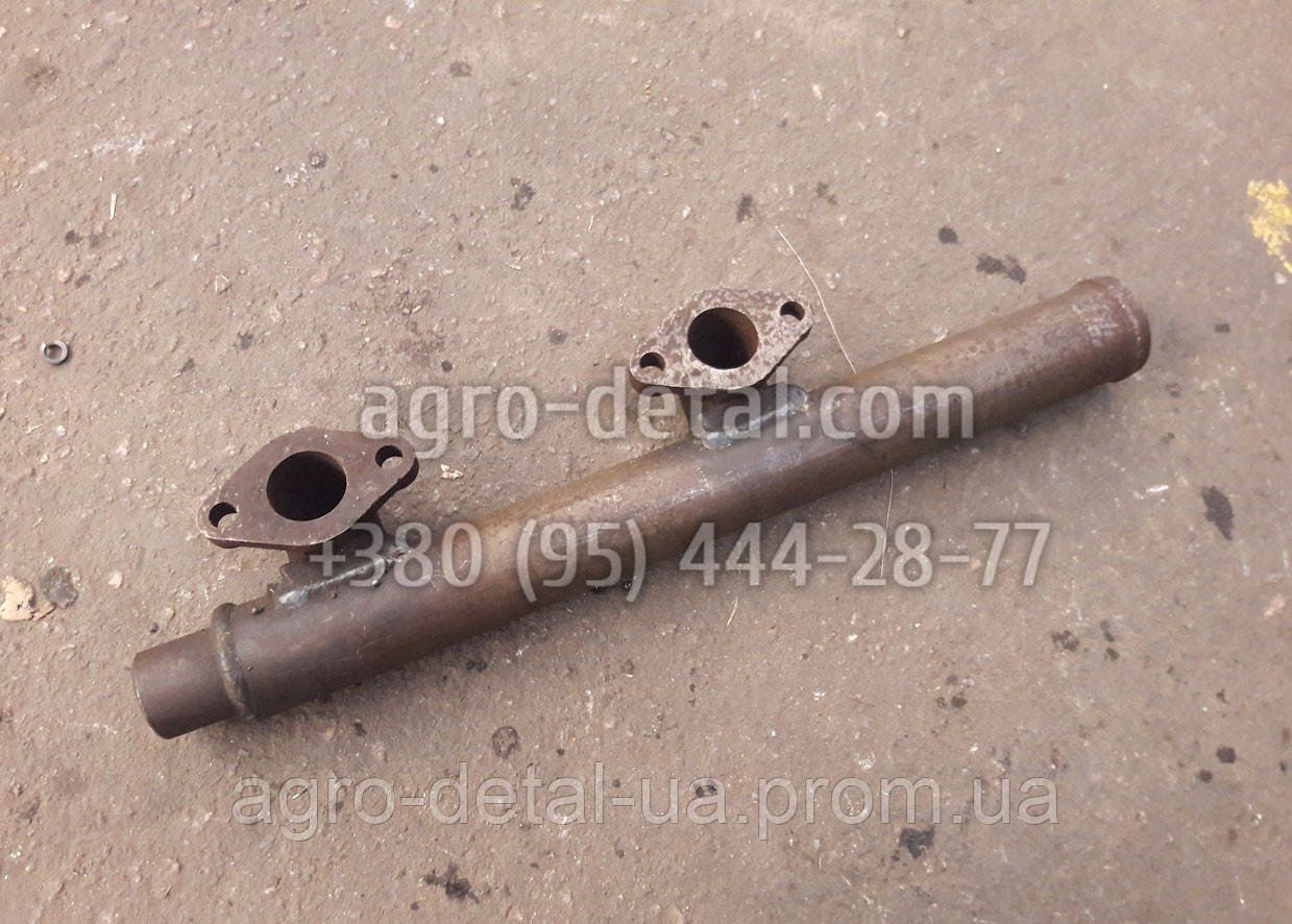 Труба 01-0683 водяная задняя дизельного двигателя А 01,А 01М производства завода АМЗ