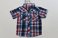 Рубашка детская на мальчика 4-12 лет