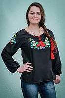 Вышиванка женская маки   Вишиванка жіноча маки, фото 1