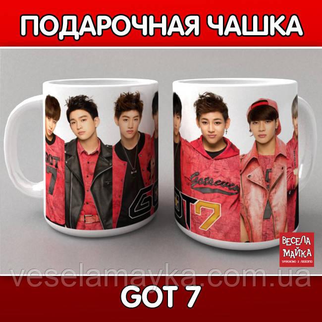 """Чашка """"Got 7"""""""