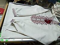 Рубашка Вышиванка мужская лен р. 42 - 58