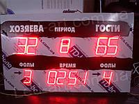 Светодиодное спортивное табло универсальное футбол, баскетбол, волейбол LED-ART-Sport-1000х650-493