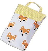 Кармашек для памперсов в сумку ORGANIZE E003 лисички, фото 1