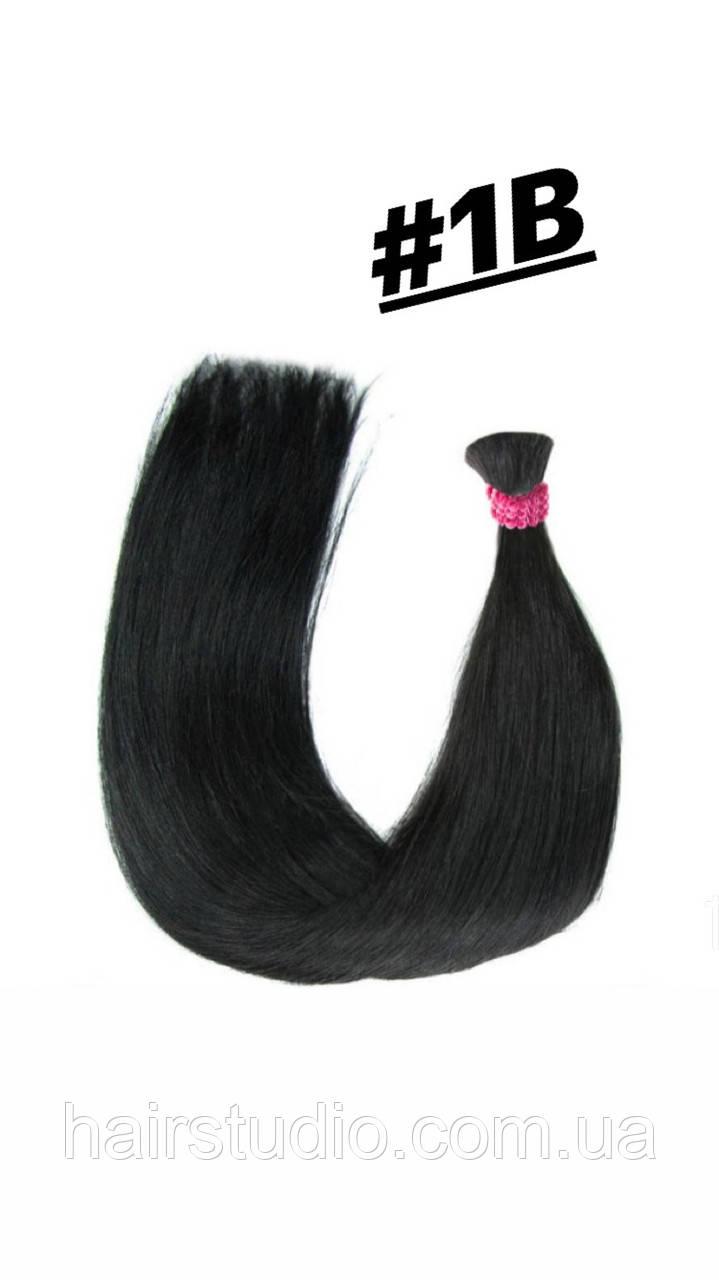 Волосы славянка Черный натуральный #1В длинна  60 см
