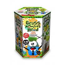Набор д / проращивания растения Grass Monsters Head 02 (поливай и наблюдай) + Волшебный Боб (в) (8) Д