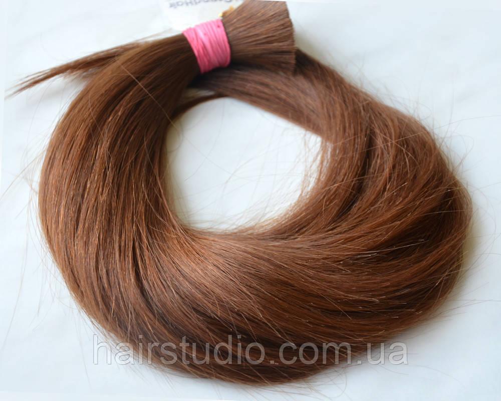 Волосы славянка светло-коричневый #6 длинна  60 см