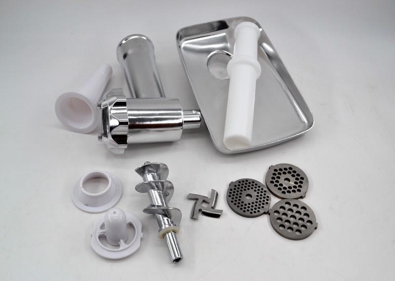 Электромясорубка кухонная Мясорубка DOMOTEC MS-2017 W/R 1500Вт для дома 3 решетки с реверсом