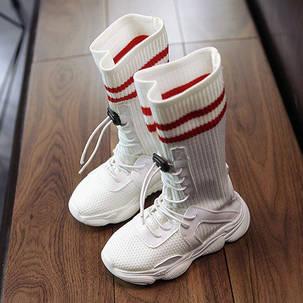 Кроссовки детские высокие носки , фото 2