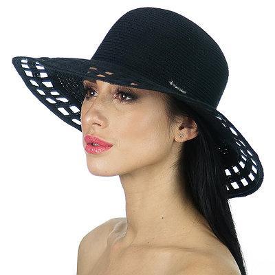 Шляпа Del Mare модель 005 черная