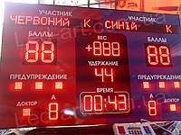 Светодиодное спортивное табло универсальное борьба LED-ART-Sport-1300х700-1288