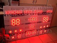 Светодиодное спортивное табло универсальное борьба дзюдо LED-ART-Sport-1500х1000-1608