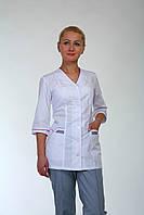 Женский медицинский костюм из батиста Код мед22105