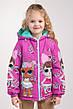 """Куртка для девочек весна-осень с принтом """"LOL"""" 116-122-128-134 роста, фото 5"""