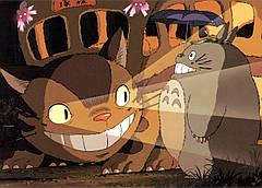 Картина GeekLand My Neighbor Totoro Мой сосед Тоторо котобас 60x40 NT 09.001