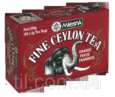 Черный чай Прекрасный Цейлон 200г (100*2г)