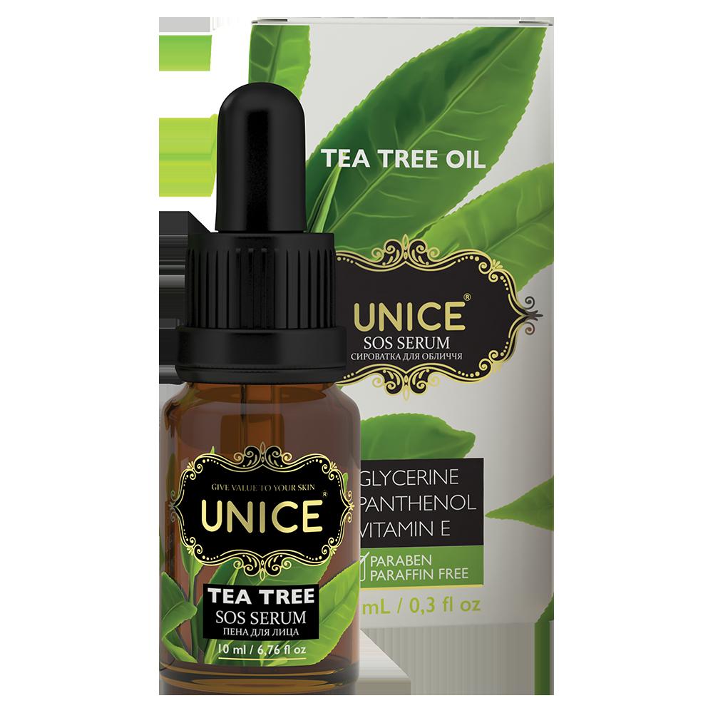 Сироватка для обличчя Akten Cosmetics Unice з олією чайного дерева 10 мл (3609018)