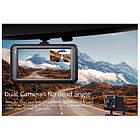 Авторегистратор классический автомобильный HD DVR T636 видеорегистратор на 2 камеры, фото 2
