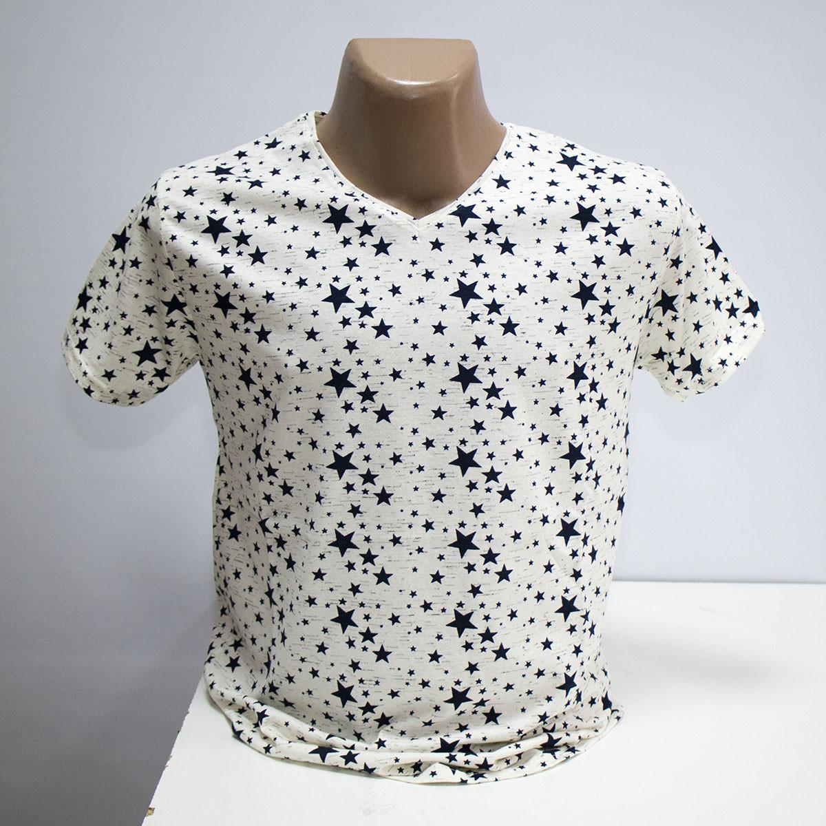 Мужская футболка хлопок пр-во Турция L5385