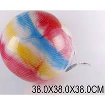 Мяч детский резиновый большой G15024 ассорти 38см