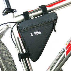 Сумка велосипедная в раму B-Soul BAO-002BLK