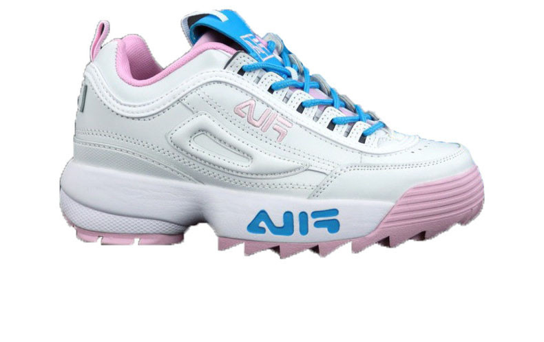 in stock entire collection affordable price Кроссовки женские Fila Disruptor II x Atipici White/Pink/Bluet ...
