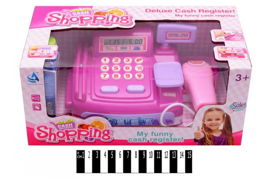 Игровой набор: Касса магазина с аксессуарами CF8601, кассовый аппарат
