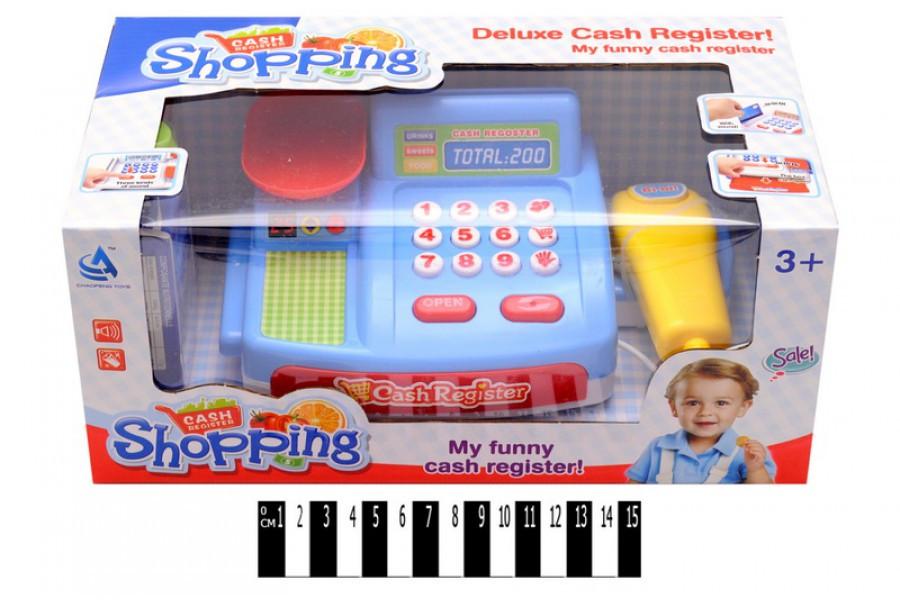 Игровой набор: Касса магазина с аксессуарами CF8610, кассовый аппарат