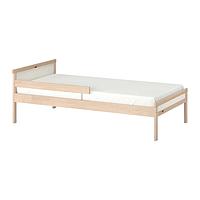 ИКЕА СНИГЛАР Каркас кровати с реечным дном, бук, 70x160 cm