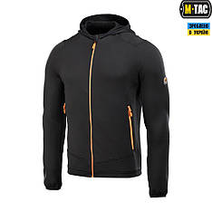 M-TAC КОФТА SPIDER MICROFLEECE HOODIE BLACK