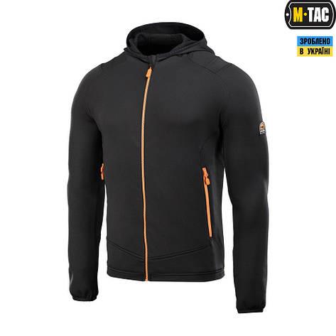 M-tac кофта spider microfleece hoodie (black), фото 2