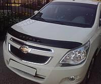 Дефлектор капота (мухобойка) Chevrolet Cobalt 2011- Код:73444643
