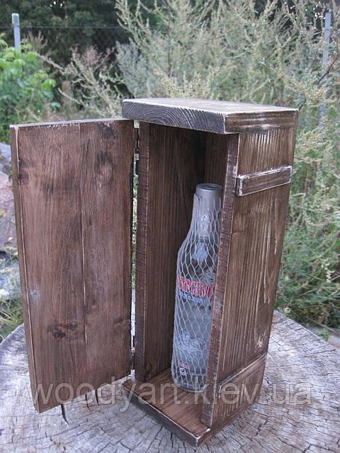 Коробка-футляр для бутылки, 39*14*13 см