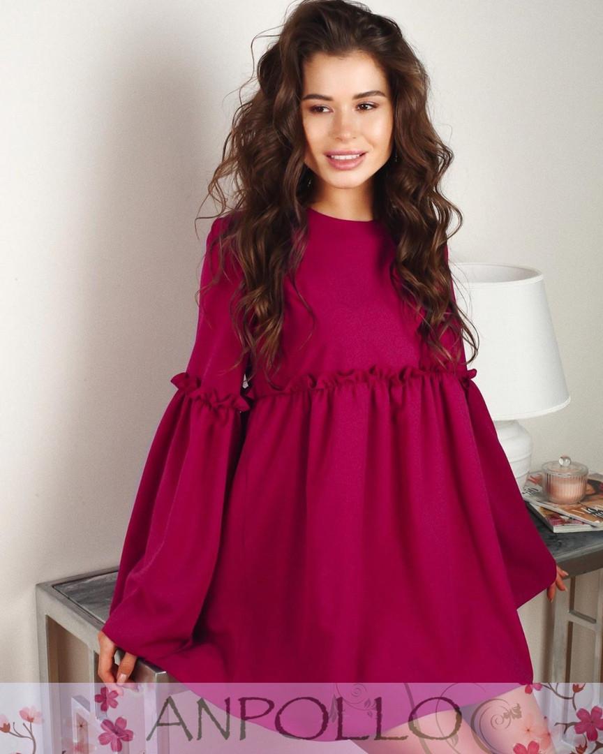 Модное нежное женское платье мод. 796