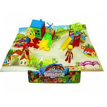 Домик DT8899-7 детская площадка фигурки домик горка в пакете